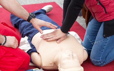 日常での緊急時における救急法を身につける